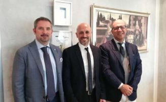 Meeting with Italian representatives